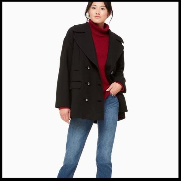 NWT Kate Spade Broome Street Pea Coat
